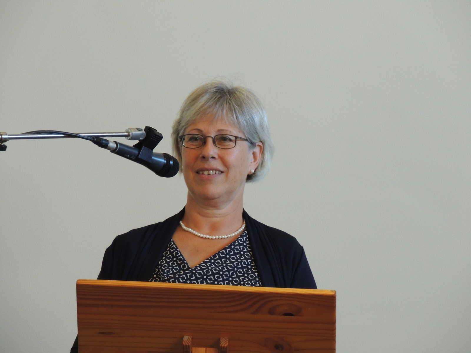 voorzitter Anneke van Wordragen van de Stichting